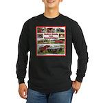 Madison County Bridges Long Sleeve Dark T-Shirt