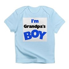 I'm Grandpa's Boy Infant T-Shirt