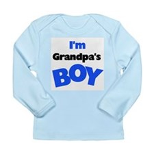 I'm Grandpa's Boy Long Sleeve Infant T-Shirt