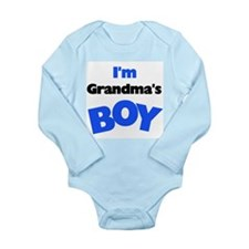 I'm Grandma's Boy Long Sleeve Infant Bodysuit