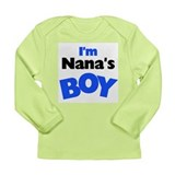 I'm Nana's Boy Long Sleeve Infant T-Shirt