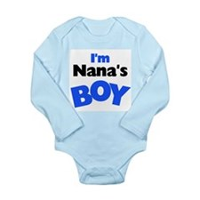 I'm Nana's Boy Long Sleeve Infant Bodysuit