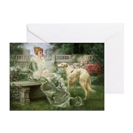 """""""The Garden"""" Borzoi Cards (10 PK)"""