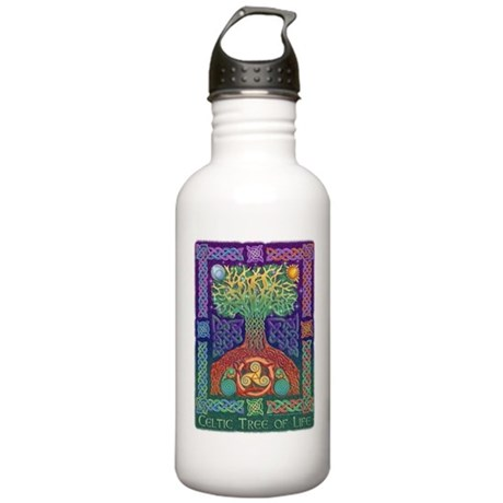 Celtic Tree of Life Stainless Water Bottle 1.0L