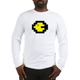 Retro Gamer Yellow Sprite Long Sleeve T-Shirt