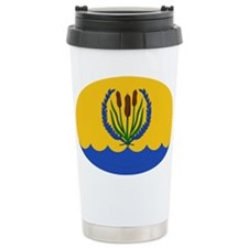 River's Bend Stainless Steel Travel Mug