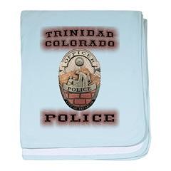 Trinidad Colorado Police baby blanket