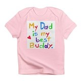 Dad Best Buddy Infant T-Shirt