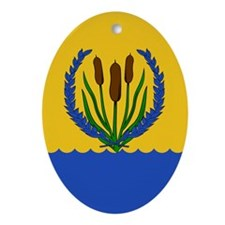 River's Bend Ornament (Oval)
