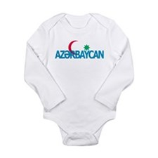 Azerbaijan Long Sleeve Infant Bodysuit