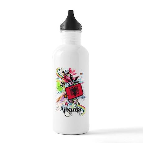 Flower Albania Stainless Water Bottle 1.0L