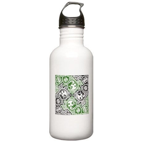 Celtic Puzzle Square Stainless Water Bottle 1.0L