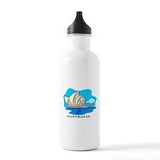 Australia Sydney Opera House Sports Water Bottle