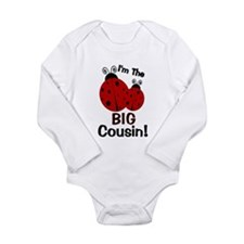 I'm The BIG Cousin! Ladybug Baby Outfits