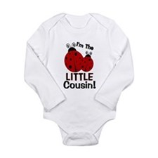 I'm The LITTLE Cousin! Ladybu Long Sleeve Infant B