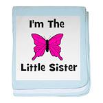 I'm The Little Sister (butter baby blanket