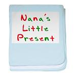 Nana's Little Present baby blanket