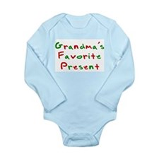 Grandma's Favorite Present Long Sleeve Infant Body