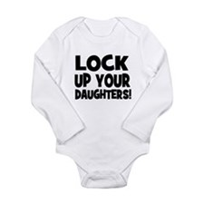 Lock Up Your Daughters! Black Long Sleeve Infant B