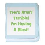Two's Aren't Terrible... (gre baby blanket