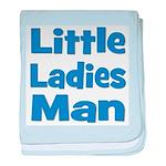 Little Ladies Man baby blanket