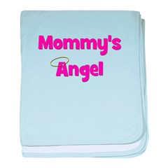 Mommy's Angel - Pink baby blanket