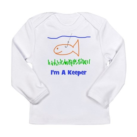 I'm A Keeper Long Sleeve Infant T-Shirt