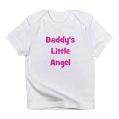 Daddy's Little Angel Infant T-Shirt
