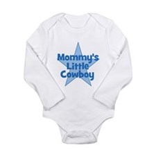 Mommy's Little Cowboy Long Sleeve Infant Bodysuit