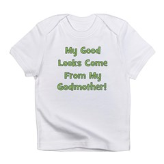 Good Looks From Godmother - G Infant T-Shirt