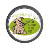 Funny Vet Tech Wall Clock