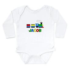 Train - JACOB Personalized Cu Long Sleeve Infant B