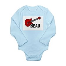Guitar - Beau Long Sleeve Infant Bodysuit