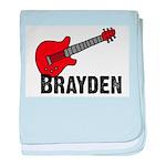 Guitar - Brayden baby blanket