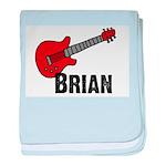 Guitar - Brian baby blanket
