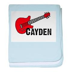 Guitar - Cayden baby blanket