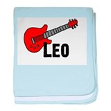 Guitar - Leo baby blanket