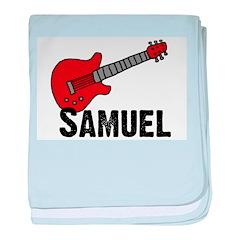 Guitar - Samuel baby blanket