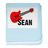 Guitar - Sean baby blanket
