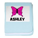 Butterfly - Ashley baby blanket