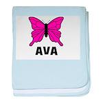 Butterfly - Ava baby blanket