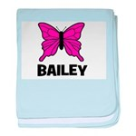 Butterfly - Bailey baby blanket