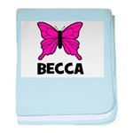 Butterfly - Becca baby blanket