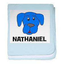 Nathaniel Puppy Dog Gift baby blanket