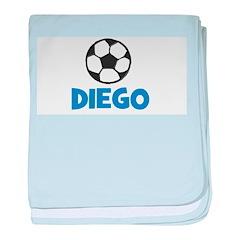 Soccer - Diego baby blanket