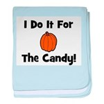I Do It For The Candy! (pumpk baby blanket