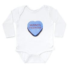 Blue Candy Heart - Mommy's Va Long Sleeve Infant B