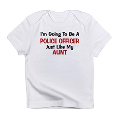 Police Officer Aunt Professio Infant T-Shirt