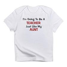 Teacher - Aunt - Profession Infant T-Shirt