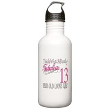 13th Birthday Gifts Water Bottle